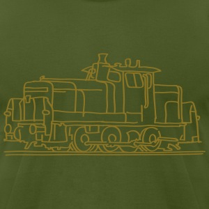 Diesel locomotive T-Shirts - Men's T-Shirt by American Apparel
