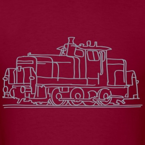 Diesel locomotive T-Shirts - Men's T-Shirt