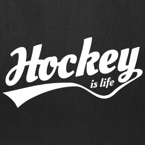 Hockey is life retro Bags & backpacks - Tote Bag