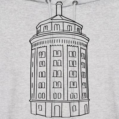 wassertrum, water tower, Prenzlauer berg, Kollwitzplatz, berlin, shirt