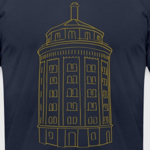 Water tower Berlin T-Shirts - Men's T-Shirt by American Apparel