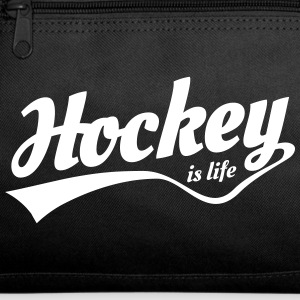 Hockey is life retro Bags & backpacks - Duffel Bag