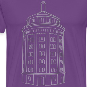 Water tower Berlin T-Shirts - Men's Premium T-Shirt
