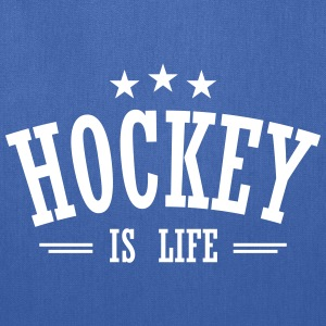 Hockey is life 3 Bags & backpacks - Tote Bag