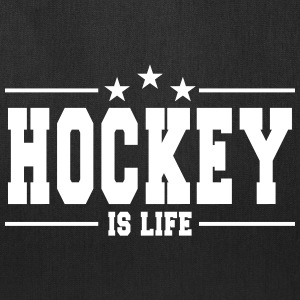 Hockey is life 1 Bags & backpacks - Tote Bag
