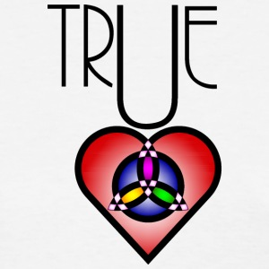 True Heart Trinity Necklace - Women's T-Shirt