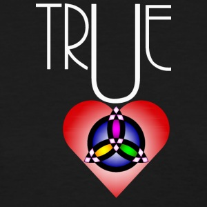 True Heart Trinity Necklace Dark - Women's T-Shirt