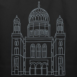 New Synagogue Berlin Bags & backpacks - Eco-Friendly Cotton Tote