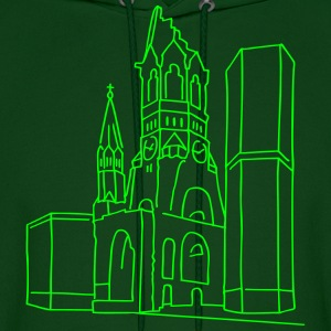Memorial Church Berlin Hoodies - Men's Hoodie