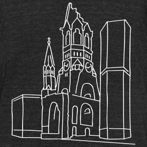 Memorial Church Berlin T-Shirts - Unisex Tri-Blend T-Shirt by American Apparel