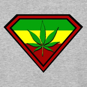 Super Ganja man - Baseball T-Shirt