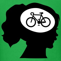 Only Cycling On My Mind T-Shirts