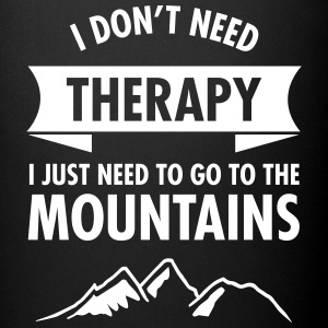 Therapy - Mountains Mugs & Drinkware - Full Color Mug