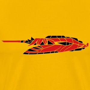 slider ufo cool futuristic technology spaceship sp T-Shirts - Men's Premium T-Shirt