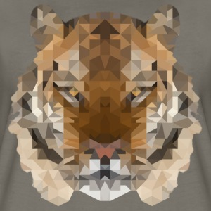 Cool Low Polygon Tiger Women's T-Shirts - Women's Premium T-Shirt