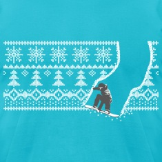 snowboard winter T-Shirts