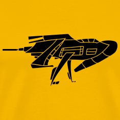 cool futuristic technology spaceship space aliens  T-Shirts