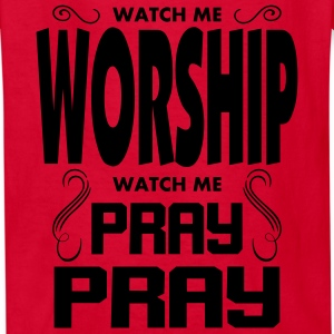 Worship Pray Pray Kids' Shirts - Kids' T-Shirt