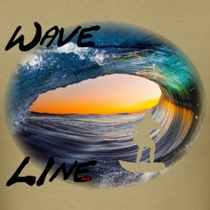 Wave Line 3 T-Shirts - Men's T-Shirt