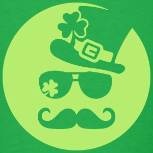 Irish Glasstache - Men's T-Shirt