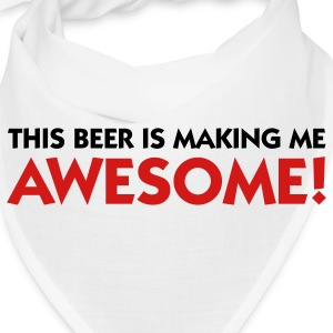 This beer makes me awesome! Caps - Bandana