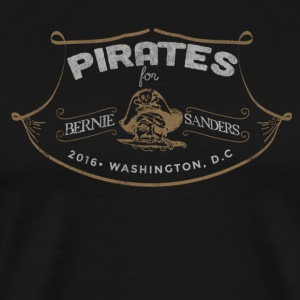 Pirates For Bernie - Men's Premium T-Shirt