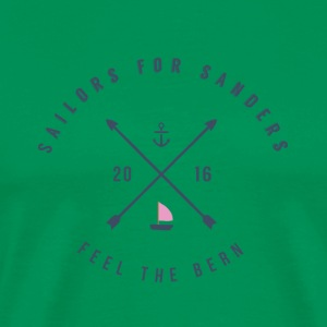 Sailors for Sanders - Men's Premium T-Shirt