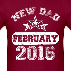 Dad To Be february 2016 T-Shirts - Men's T-Shirt