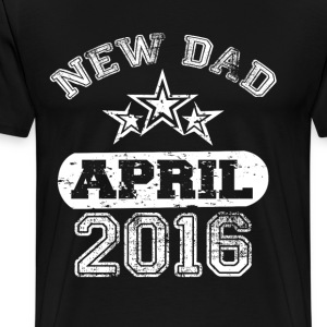 Dad To Be April 2016 T-Shirts - Men's Premium T-Shirt