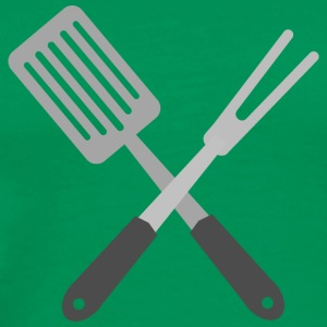 BBQ Utensils T-Shirts - Men's Premium T-Shirt