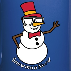 Nerds - Snowman Nerd Coffee Cup - Full Color Mug