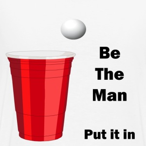 Be the man - Men's Premium T-Shirt