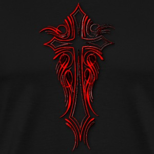 CROSS RED T-Shirts - Men's Premium T-Shirt