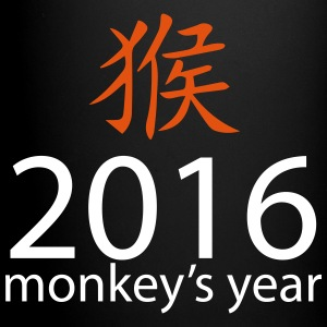 2016 monkey's year Mugs & Drinkware - Full Color Mug
