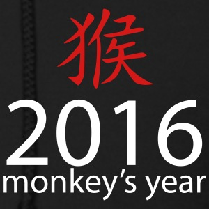 2016 monkey's year Zip Hoodies & Jackets - Men's Zip Hoodie