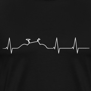 Mountainbike heartbeat Shirt - Men's Premium T-Shirt