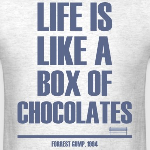 Forrest Gump - Box Of Chocolates - Men's T-Shirt