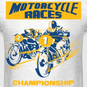 vintage motorbike racing T-Shirts - Men's T-Shirt