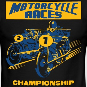 vintage motorbike racing T-Shirts - Men's Ringer T-Shirt