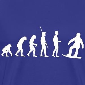 Evolution Snowboard Shirt - Men's Premium T-Shirt