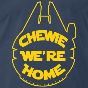 Chewie, we're home-falcon T-Shirts - Men's Premium T-Shirt