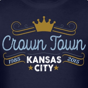 Crown Town Kansas City T-Shirts - Men's T-Shirt