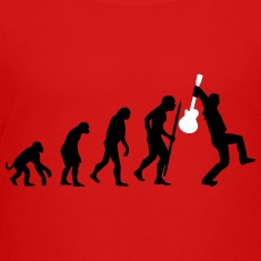 Evolution rock def Kids' Shirts