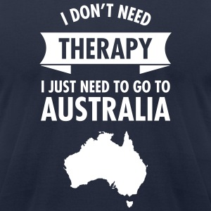 Therapy - Australia T-Shirts - Men's T-Shirt by American Apparel