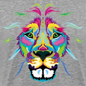 Colored Lion - Men's Premium T-Shirt