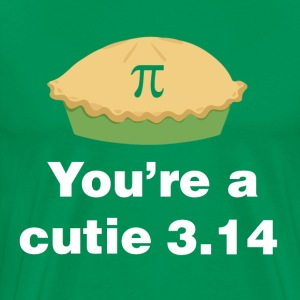 You're a Cutie 3.14 - Men's Premium T-Shirt