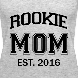 Rookie Mom funny mom to be baby - Women's Premium Tank Top