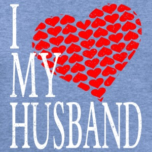 I Love My Husband Long Sleeve Shirts - Women's Wideneck Sweatshirt