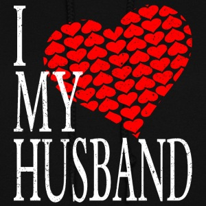 I Love My Husband Hoodies - Women's Hoodie