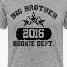 New Big Brother 2016 Rookie Dept T-Shirts